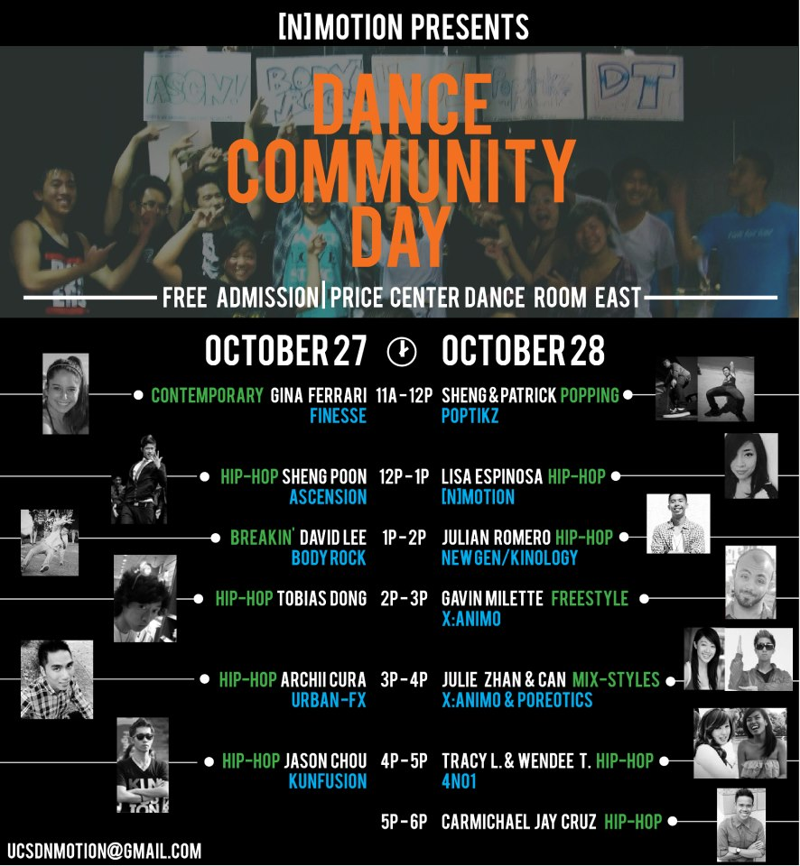 Design Portfolio - Dance Community Day Flier
